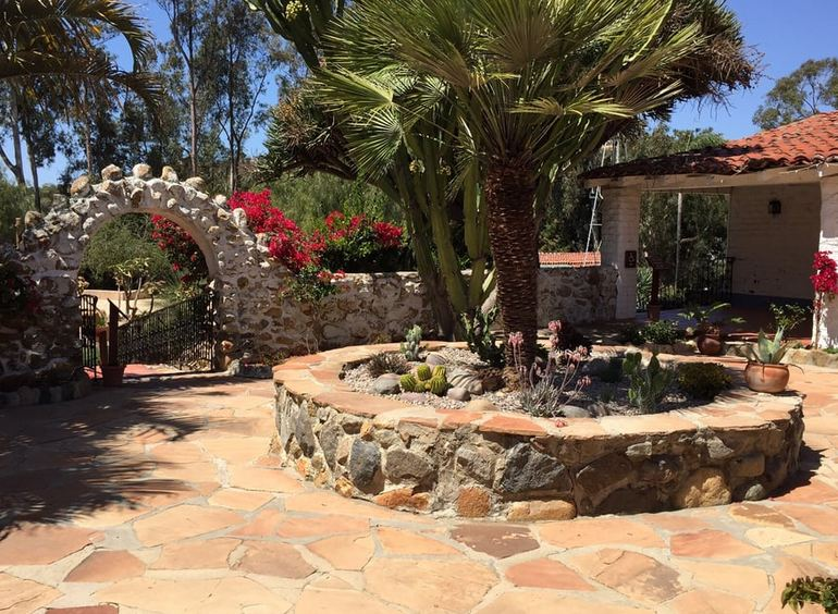 Ranch Courtyard