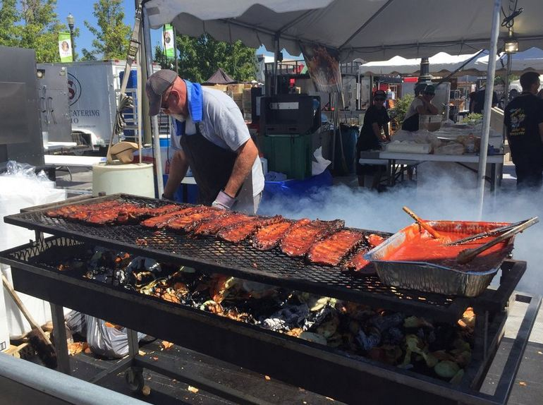Mile Square Park BBQ Festival
