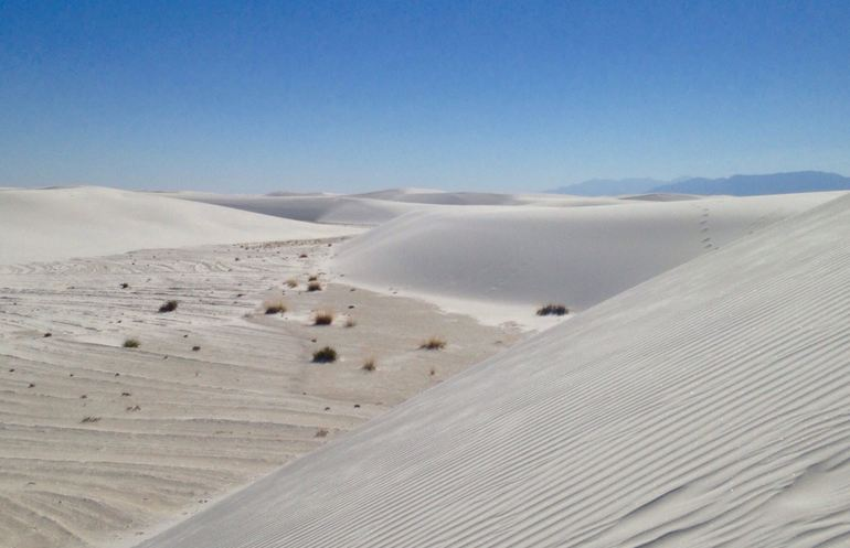 Gypsum Crystal Dunes