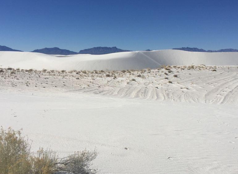 Unique Sand Formations