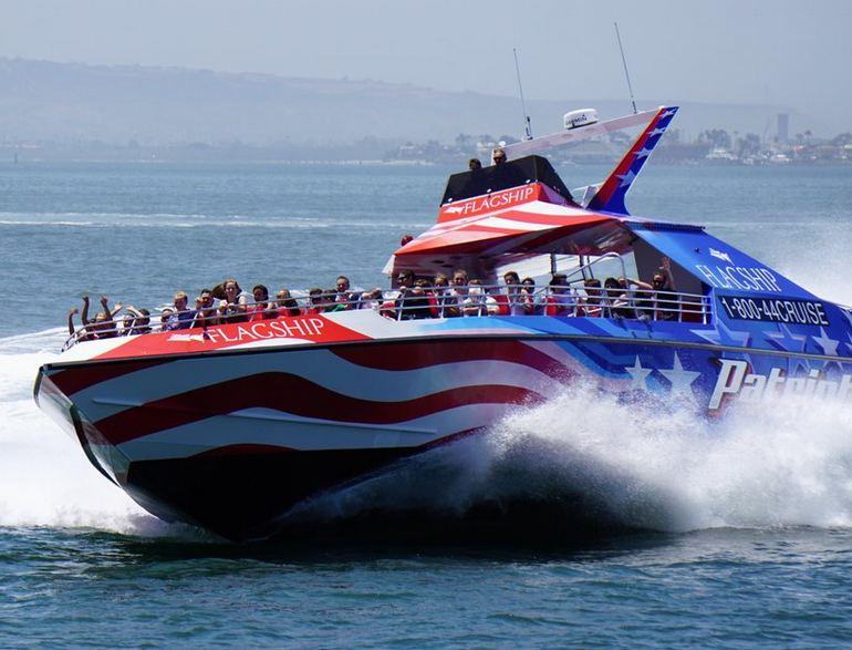 San Diego Bay Patriot Jet Boat Ride
