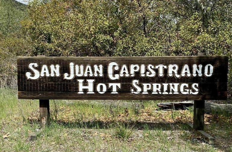 San Juan Hot Springs Ortega Highway