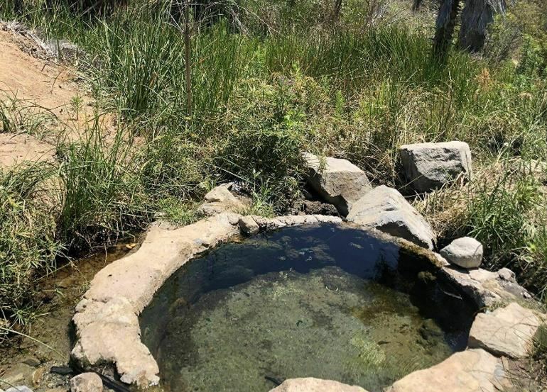 Ortega Highway Hot Springs